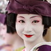 purple / portrait / face / japanese / beauty : maiko (geisha apprentice) kotomi kyoto, japan / canon EF 85mm f1.8