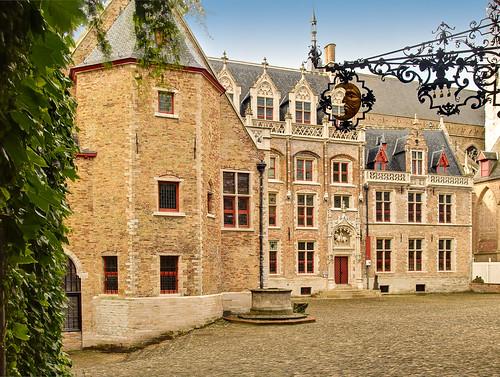 The Gruuthuse Museum in Bruges, Belgium