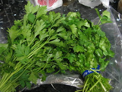 annual plant, vegetable, leaf vegetable, herb, produce, food, fines herbes,