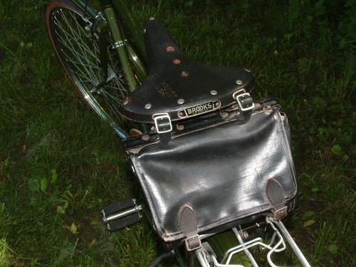 His Brooks Saddle