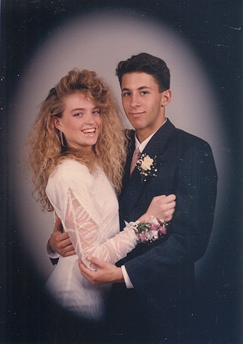 Unknown 1980's Prom Couple. | Flickr - Photo Sharing!