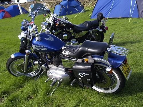 Harley-Davidson Super Stock Motorbikes