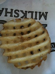 Most perfect waffle frie