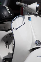 automobile, scooter, white, vehicle, automotive design, land vehicle, vespa,
