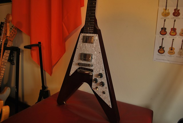 Photo:2007 Gibson Flying V '67 Reissue Cherry By Freebird_71
