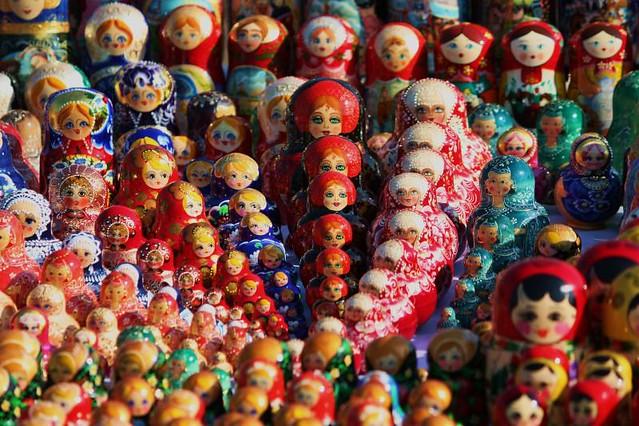 Russian dolls - Flickr CC quiltsalad