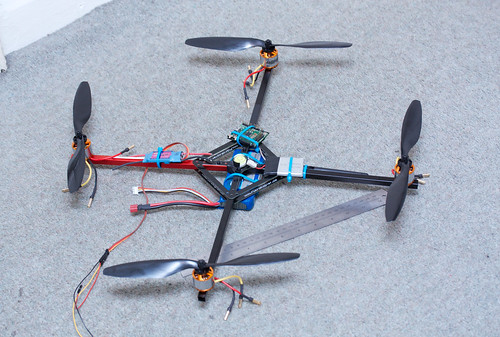 Robot4 aka Quad1 - First Prototyping