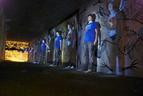 The Hollow Line - Light Graffiti