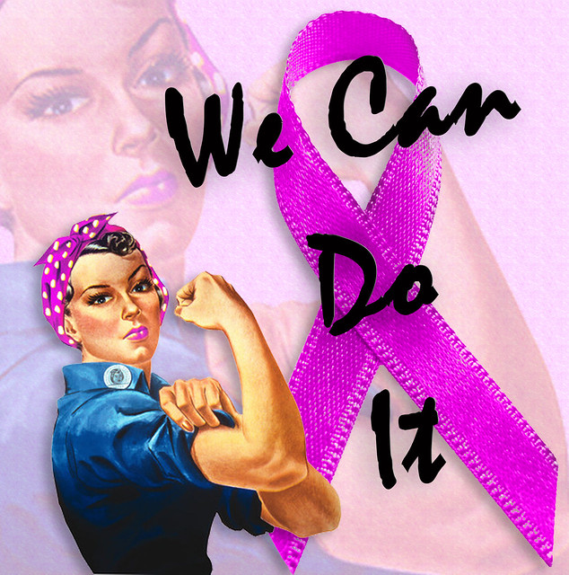 Breast Cancer Awareness from Rosie the Riveter, We Can Do It