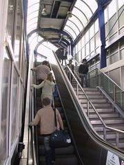 vehicle(0.0), train(0.0), public transport(0.0), rolling stock(0.0), rapid transit(0.0), transport(1.0), escalator(1.0),