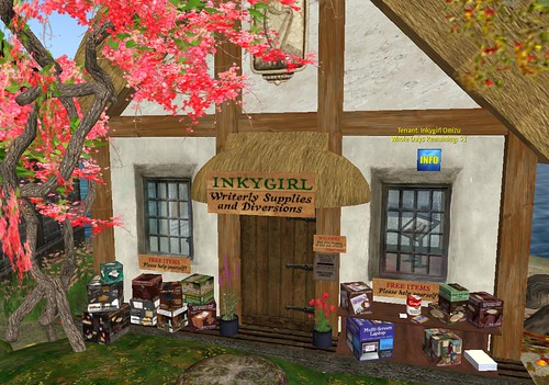 My writer's cottage in Second Life