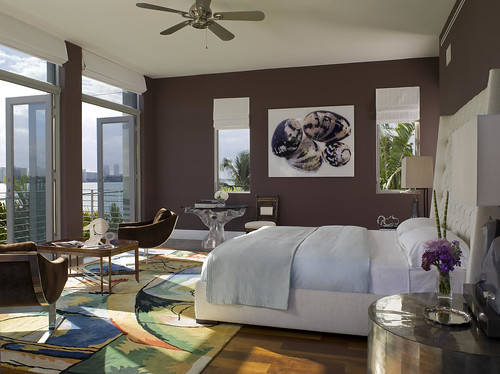 Master bedroom by Brown Davis Interiors