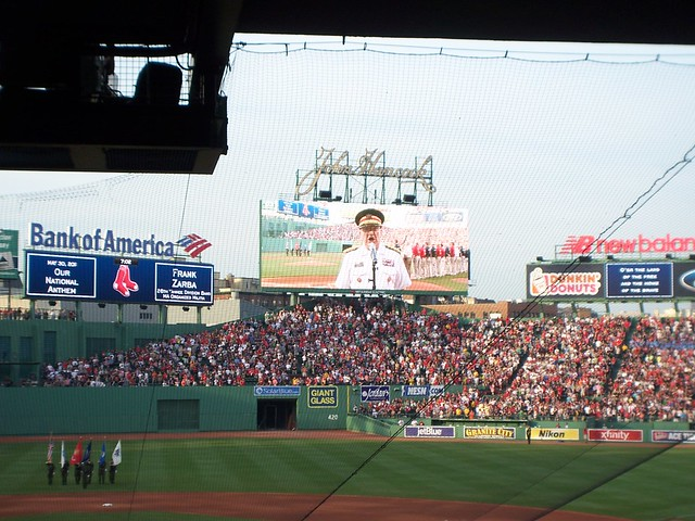 frank zarba sings the anthem