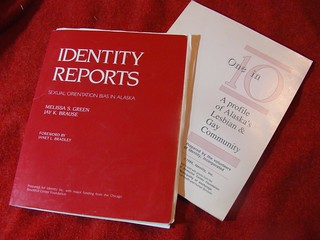 Identity Reports (1989) and One in 10 (1986)