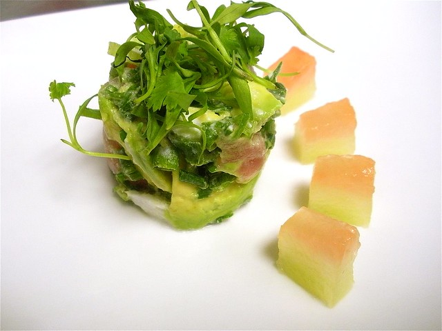 ... -Avocado Tartare w/ Pickled Watermelon Rind | Flickr - Photo Sharing