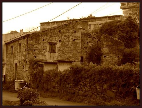 Casa no lugar do Souto, en Castro de Elviña
