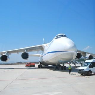 Image of Avión. plane airplane aeropuerto agp antonov málaga avión avióndecarga