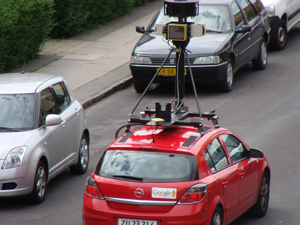 Google Street View Car Christian Johannesen Flickr