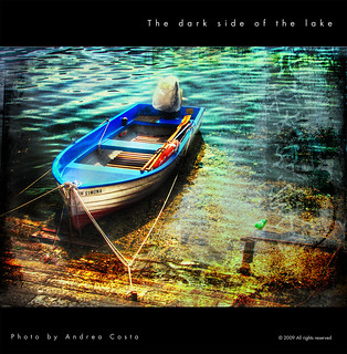 The dark side of the lake