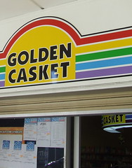 Golden Casket (Newsagent selling lottery tickets), Ipswich Rd, Annerley Junction, Brisbane, Queensland, Australia 090617