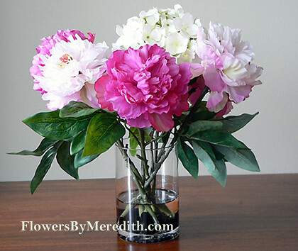 silk flower arrangement purple pink white flickr photo