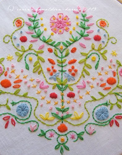 Tree of Life embroidery
