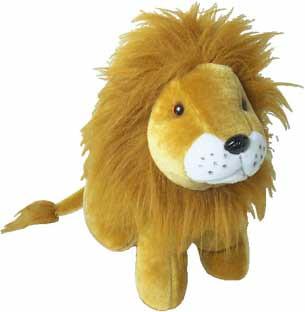 stuffed small lion