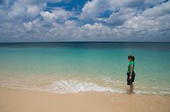 Mary on Grand Anse Beach
