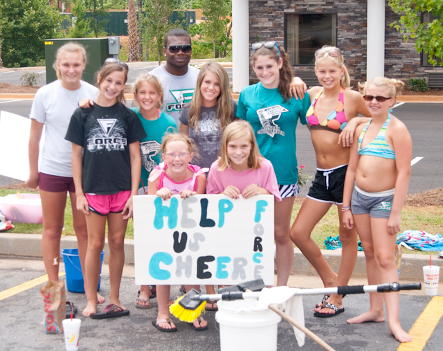Teen Cheerleader Car Wash Bikini
