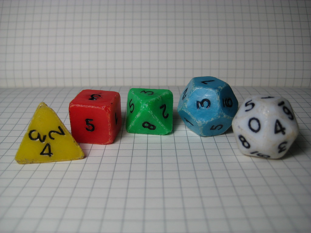 Old Dice Set