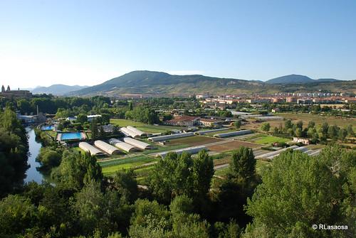 Pamplona - Huertas de la Magdalena by Rufino Lasaosa
