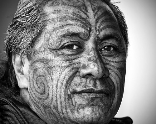 new portrait people bw white black face tattoo canon paint skin isaac tribal mob zealand warrior 5d were once maori tribe kiwi marking mongrel gangs moko mkii ganster tuhoe tā