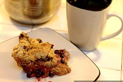 huckleberry plum pie and vacuum brewed home roasted …