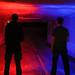 Red vs Blue by Eazy Foto