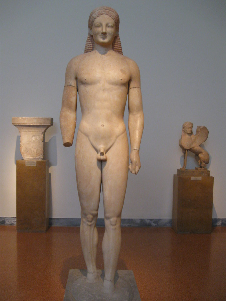 Kouros from Merenda