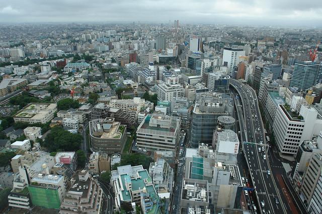 City Skyline, Tokyo Japan