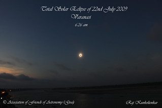 Totality over ganga