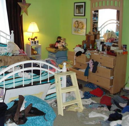 Daughter 39 s messy room flickr photo sharing - The clean bedroom ...