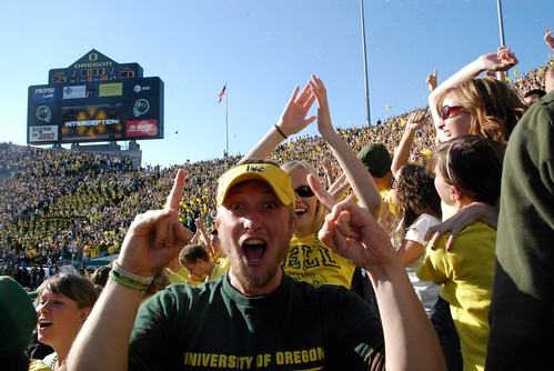 Autzen excitement.