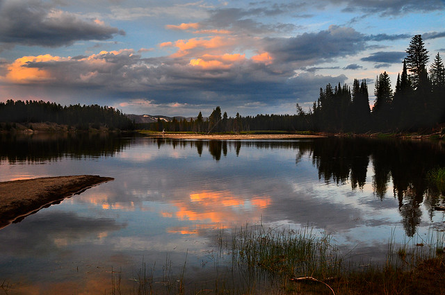 Evening Along the Yellowstone River