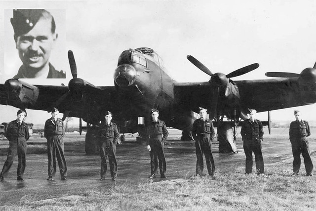 the dambusters rcaf pilot officer lewis burpee seen in