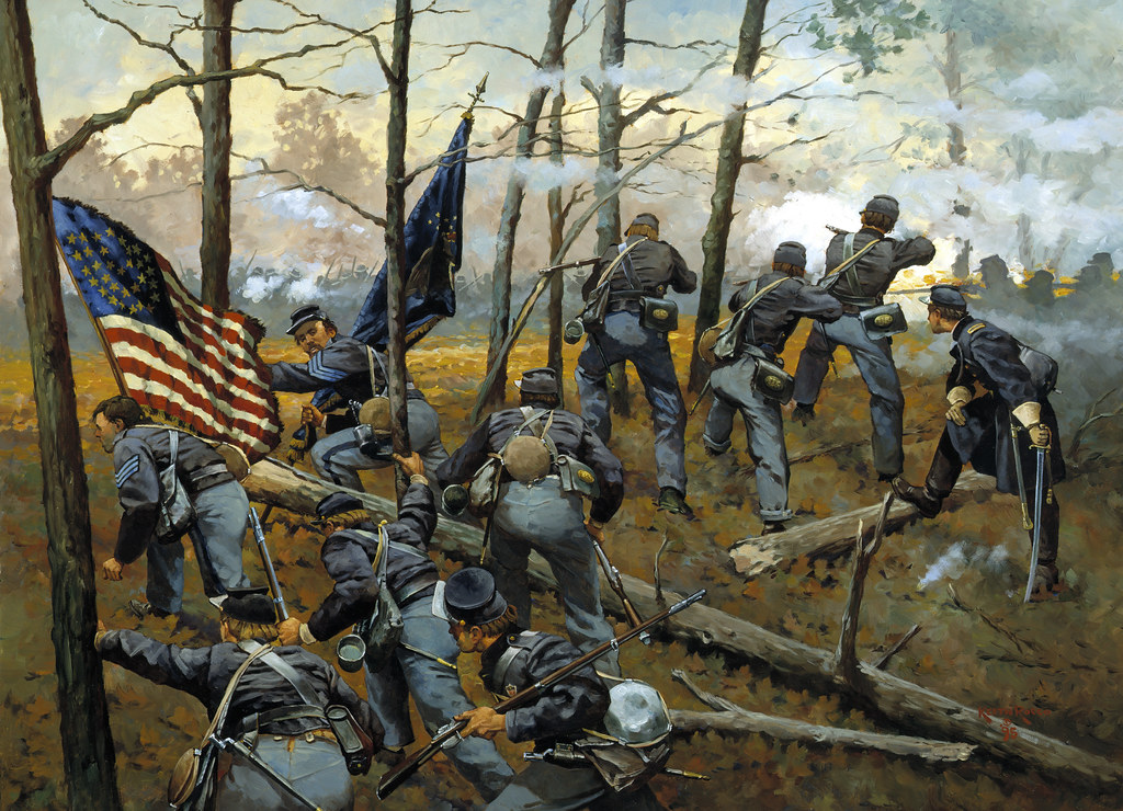 """Plenty of Fighting Today"": The 9th Illinois at Shiloh by Keith Rocco"
