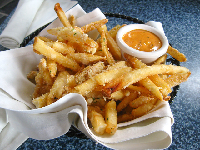 pommes frites cafe orleans disneyland flickr photo sharing. Black Bedroom Furniture Sets. Home Design Ideas