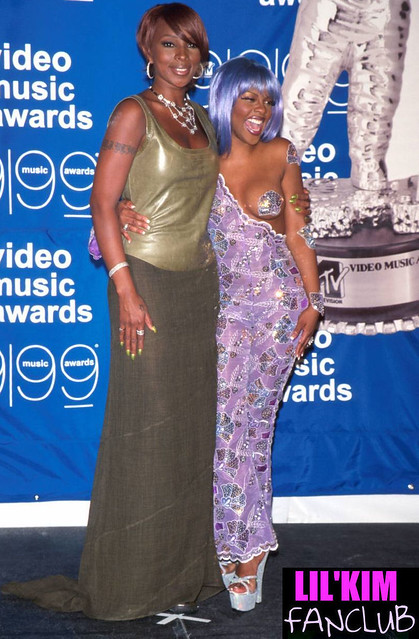 LIL KIM AND MARY J BLIGE 1999 MTV MUSIC AWARDS