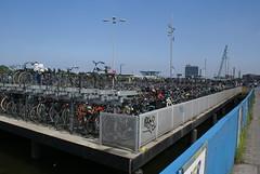Overvolle fietsenstalling