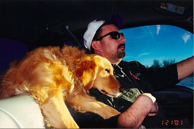 Kachina and dad..road trip
