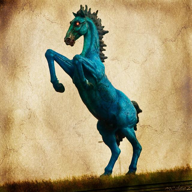 Demon Horse Or Denver DIA Mustang?
