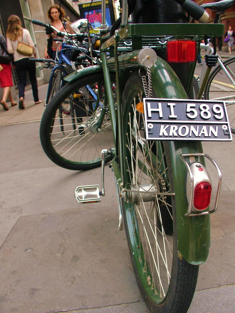 Kronan license plate