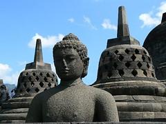 Borobudur near Yogyakarta (Indonesia 2009)