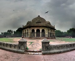 Delhi - Tombe d'Ali Isa Khan Niazi - 28-07-2009 - 17h05